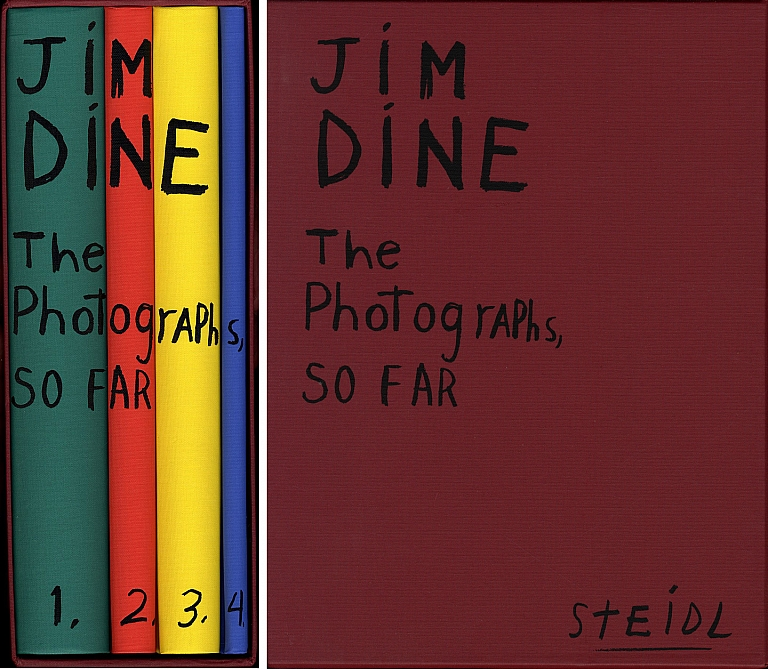 Jim Dine: The Photographs, So Far (Four Volume Set) [SIGNED] [IMPERFECT