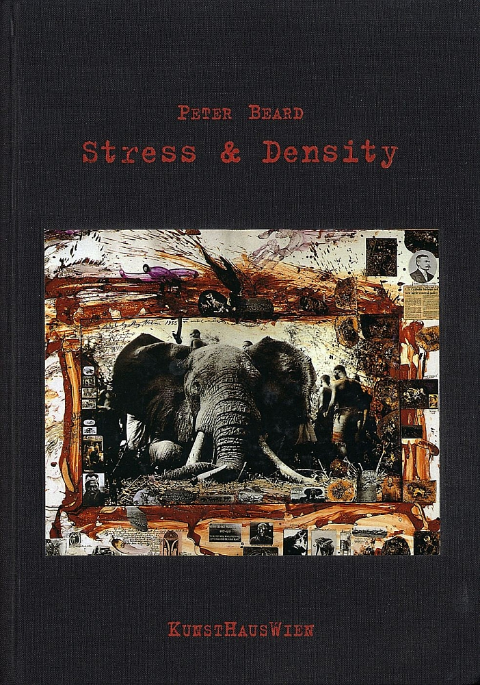 Peter Beard: Stress & Density (with 2 Exhibition Announcement Cards)
