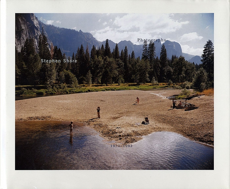 Stephen Shore: Photographs 1973-1993 [SIGNED]