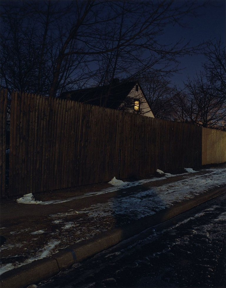Todd Hido: Untitled #2638 (Levittown, New York), 2001, Limited Edition Type-C Print