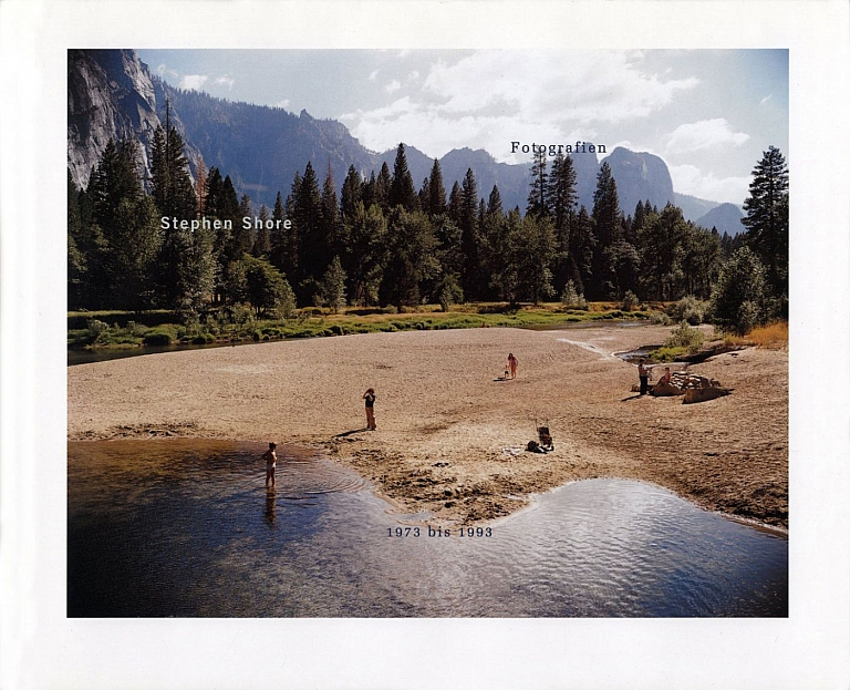 Stephen Shore: Fotografien 1973 bis 1993 [SIGNED]