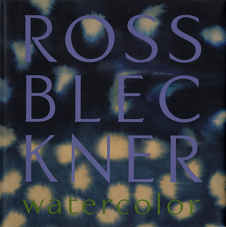 Ross Bleckner: Watercolor