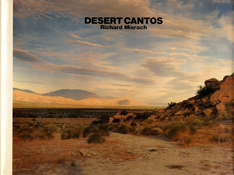 Richard Misrach: Desert Cantos (Japanese Edition) [SIGNED