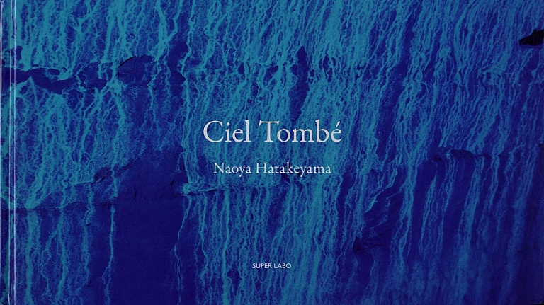 Naoya Hatakeyama: Ciel Tombé (Trade Edition) and a copy of The Astrologer, by Sylvie Germain