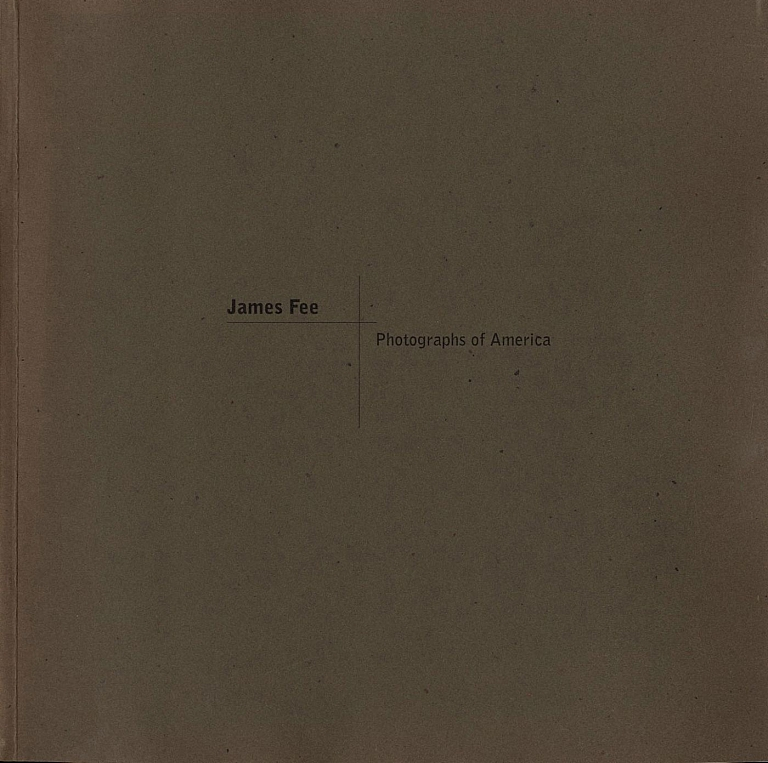 James Fee: Photographs of America [SIGNED