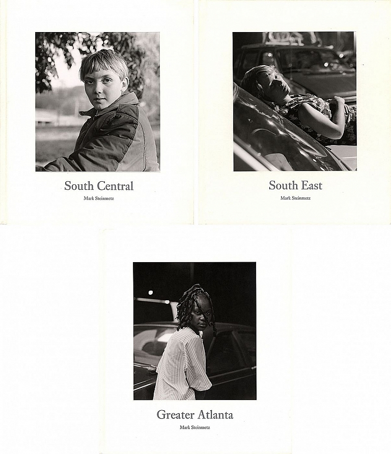 Mark Steinmetz: South Central; South East; and Greater Atlanta (Three Volume Set) [all SIGNED]