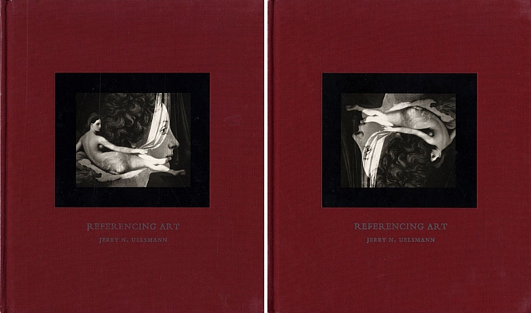 Jerry Uelsmann: Referencing Art (Set of Two Copies, Cover Plate Inverted on One Copy