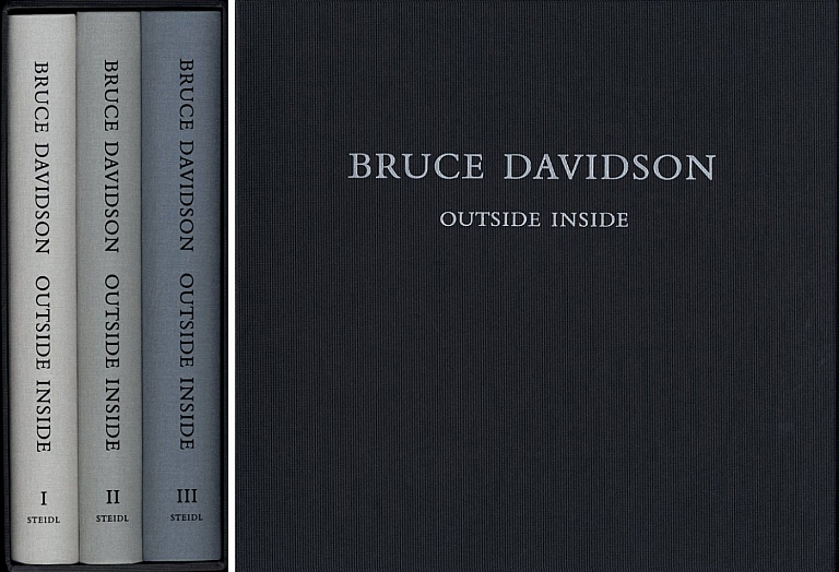 Bruce Davidson: Outside Inside (Three Volumes) [SIGNED