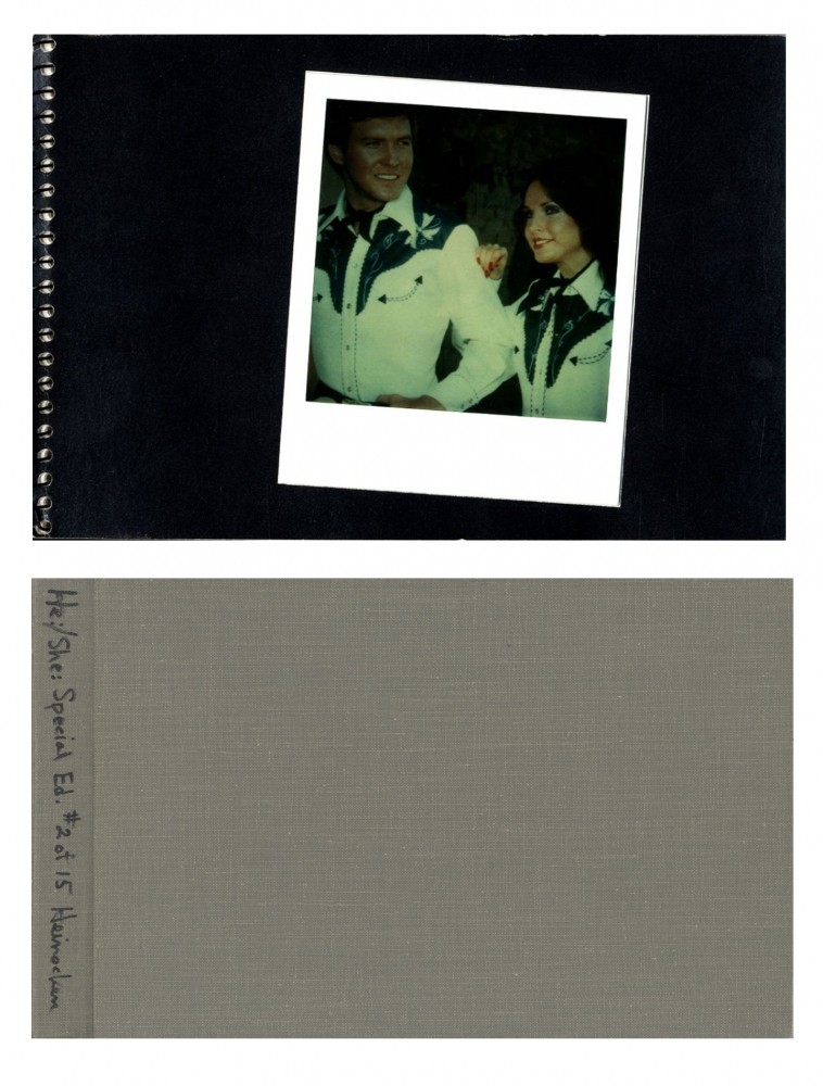 Robert Heinecken: He:/She:, Slipcased Limited Edition (with 10 Polaroid SX-70 Prints) [SIGNED