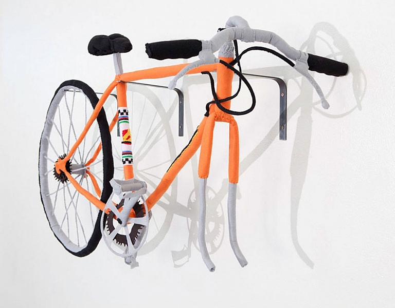 Tamara Wilson: Bicycle (Felt, Thread and Wire), Limited Edition