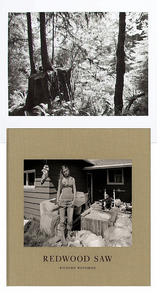 "Richard Rothman: Redwood Saw, Special Limited Edition (with ""Forest"" Print Variant"