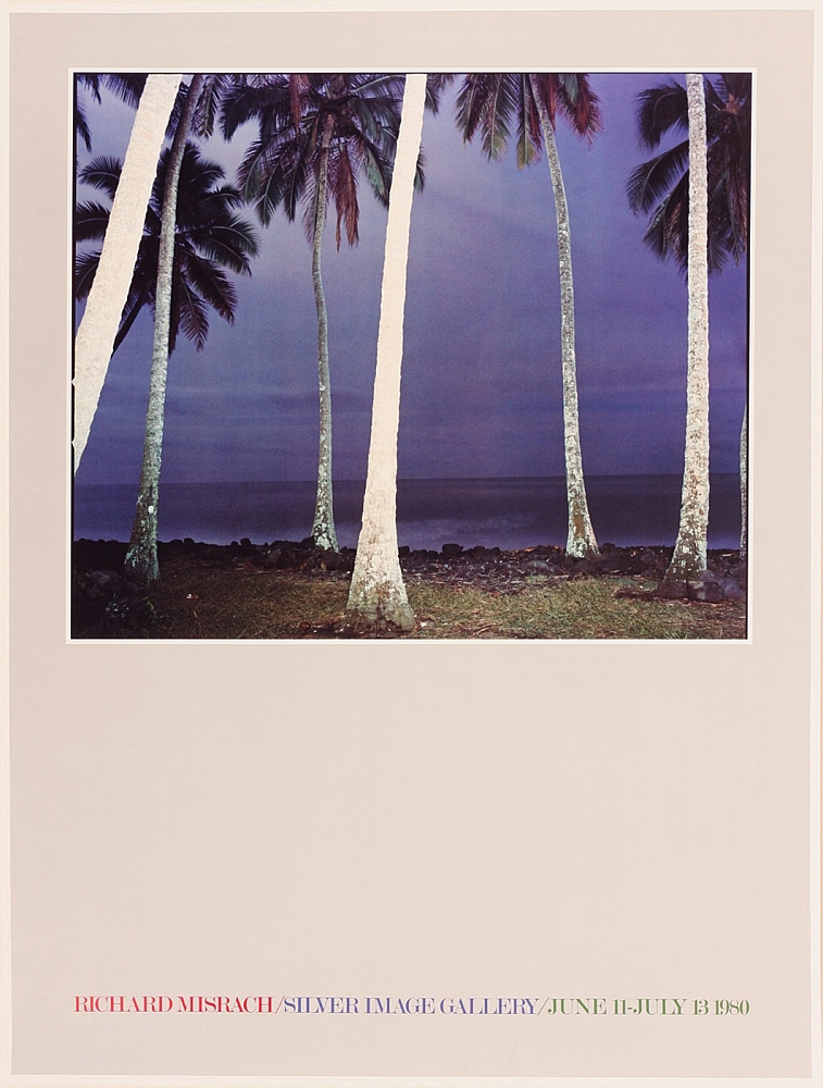 Richard Misrach: Silver Image Gallery Exhibition Poster (Hawaii XVII, 1978)