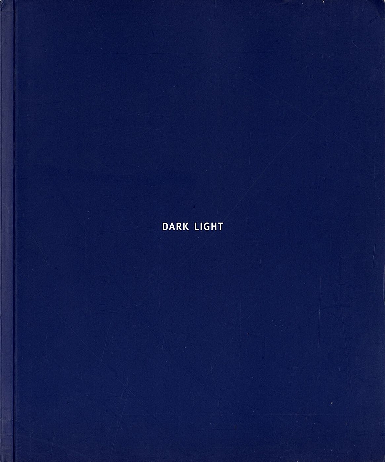David Levinthal: Dark Light: Photographs 1984-1994 [SIGNED (with Association Letter