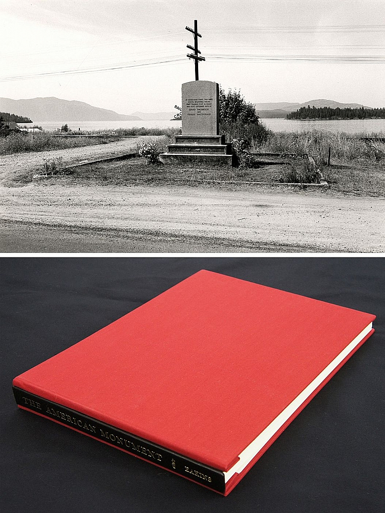 Lee Friedlander: The American Monument (Special Limited Edition with One Vintage Gelatin Silver...