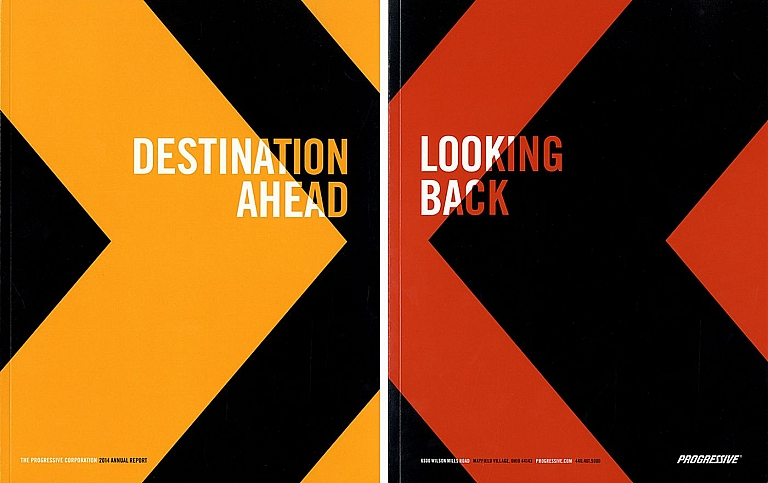 The Progressive Corporation 2014 Annual Report: Destination Ahead, Looking Back: Photographs by...