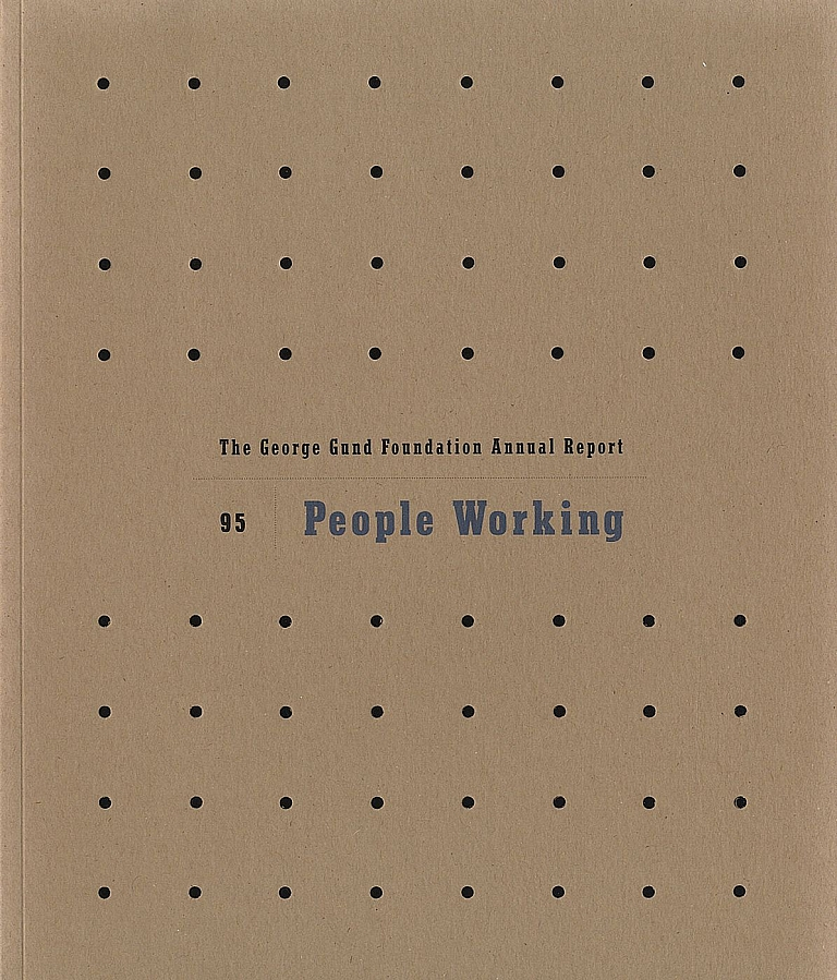 Lee Friedlander: People Working (The George Gund Foundation 1995 Annual Report) [SIGNED