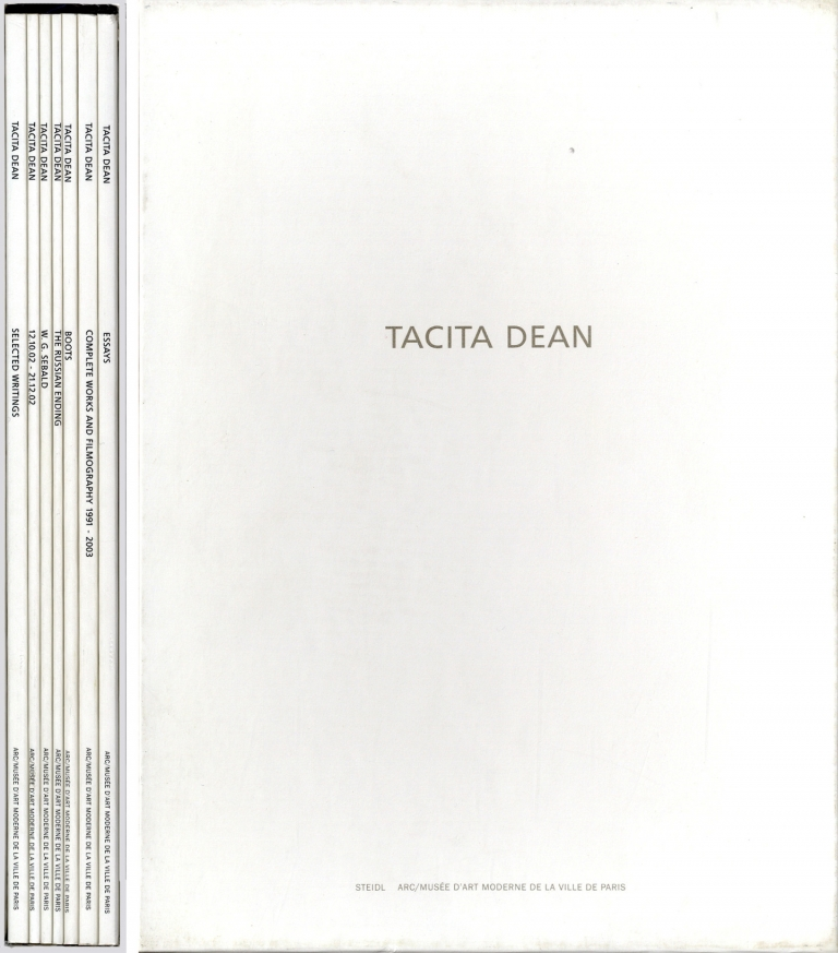 Tacita Dean: Seven Books (Selected Writings, 12.10.02 - 21.12.02, W.G. Sebald, The Russian...