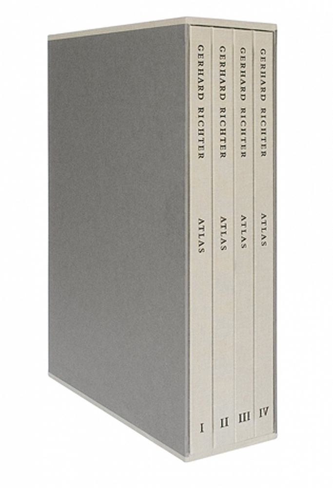 Gerhard Richter: Atlas, in Four Volumes, Limited Edition of 800