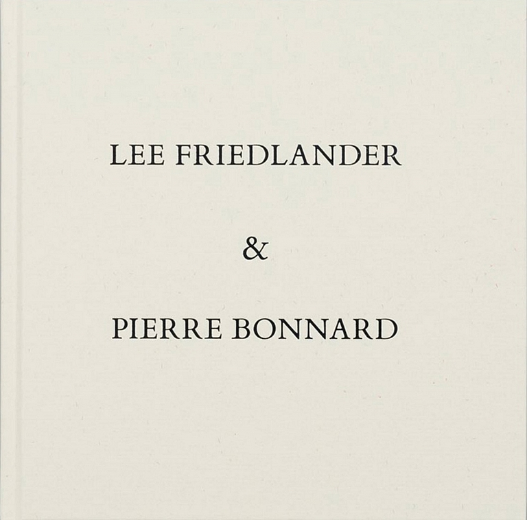 Photographs & Drawings: Lee Friedlander & Pierre Bonnard [SIGNED by Friedlander