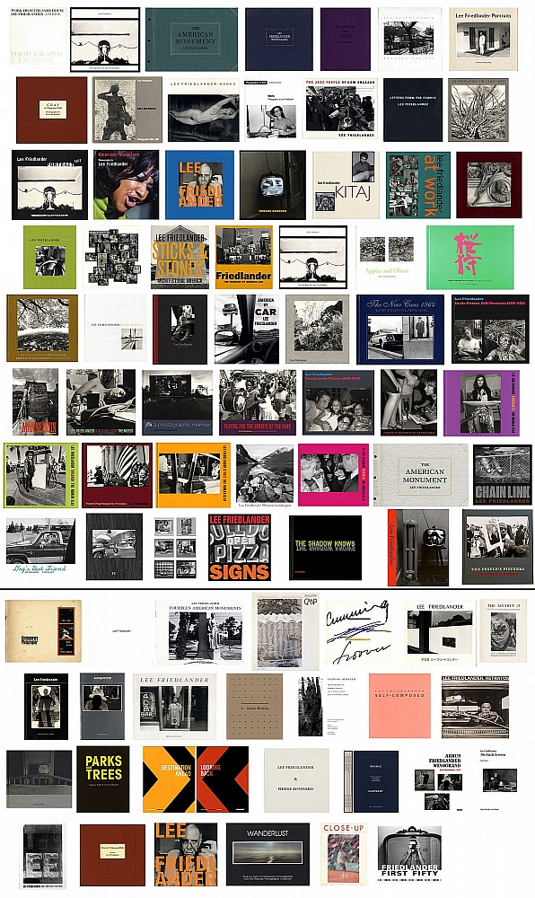 Lee Friedlander: The Complete Collection of 63 Books and Catalogues [All Titles SIGNED, First Edition, First Printing, in Fine or As New Condition; Some Titles Limited Editions; Includes Additional Ephemera]