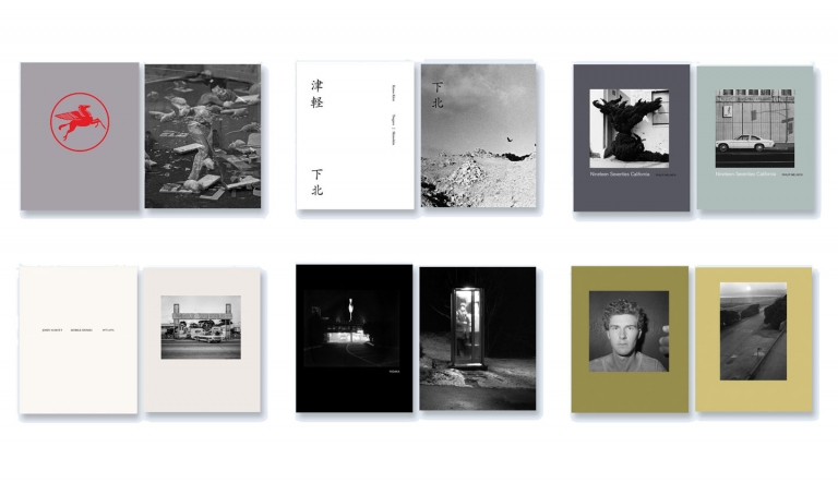 NZ Library: Set #2 (Six Volumes), Limited Edition [SIGNED]. Robbert Flick: LA Diary; Kazuo Kitai: Tsugaru / Shimokita; Philip Melnick: Nineteen Seventies California; John Schott: Mobile Homes 1975-1976; Toshio Shibata: Yodaka; Mark Steinmetz: Angel City West