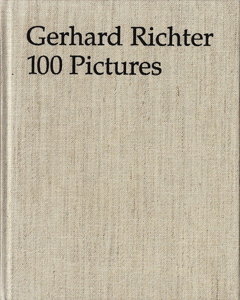 Gerhard Richter: 100 Pictures (First Edition)