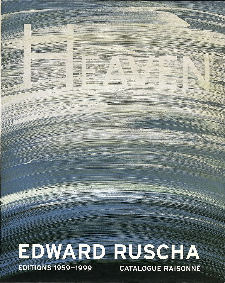 Edward Ruscha: Editions 1959-1999, Catalogue Raisonné (Two Volumes