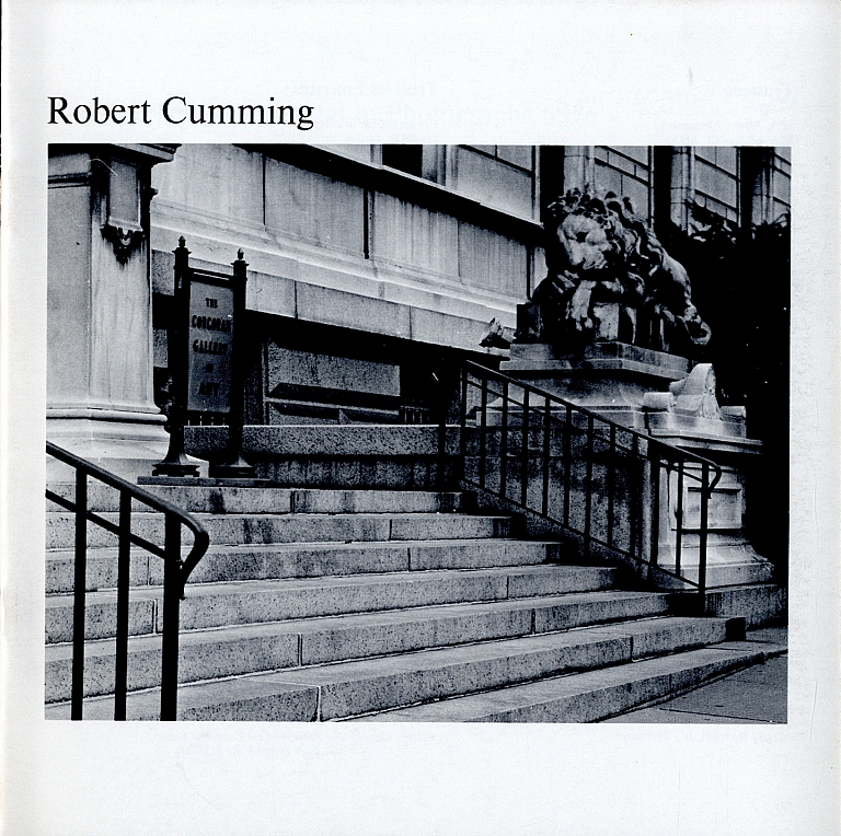 Photography at the Corcoran Series, The Nation's Capital in Photographs, 1976: Robert Cumming