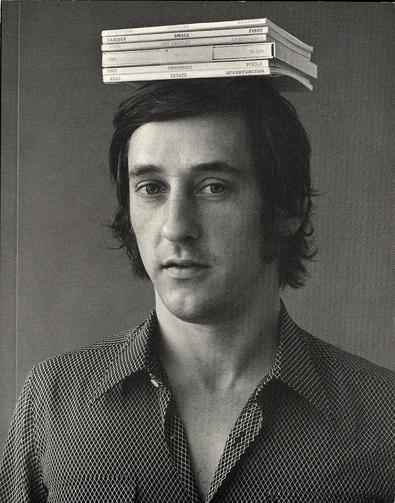 Picturing Ed: Jerry McMillan's Photographs of Ed Ruscha 1958-1972