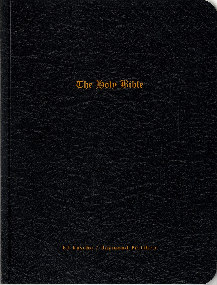 Ed Ruscha & Raymond Pettibon: The Holy Bible & The End