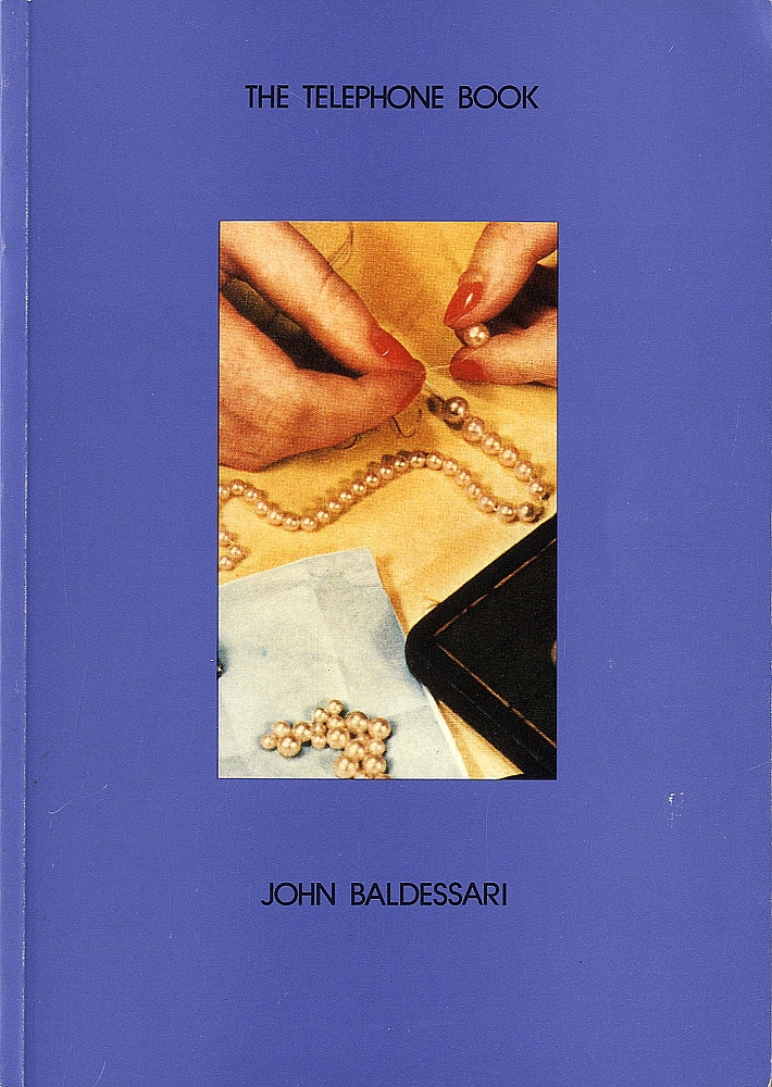 John Baldessari: The Telephone Book (with Pearls