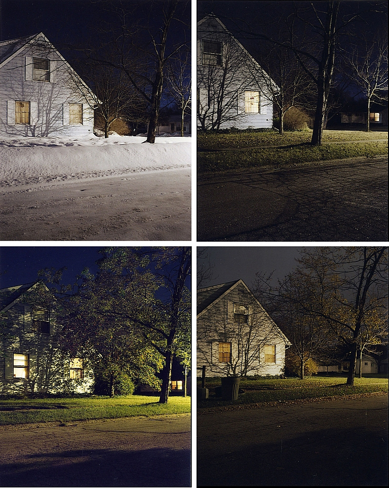 Todd Hido: Taft Street (Complete Set of Four Books) (One Picture Book #6), Limited Edition (with...