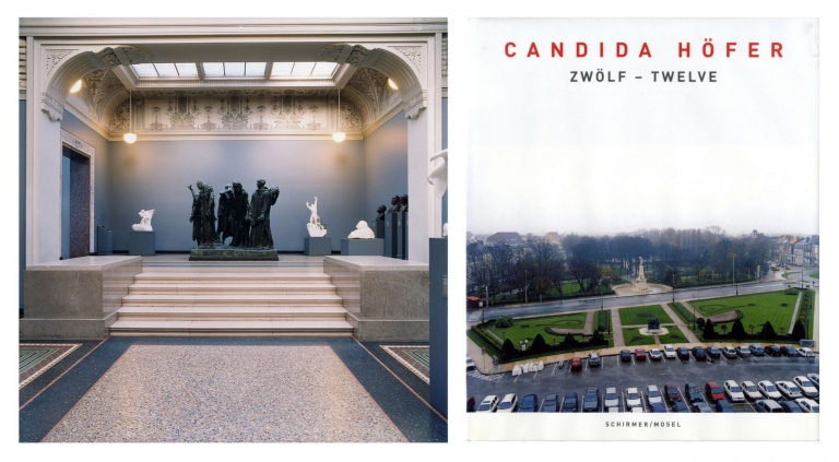 Candida Höfer: Zwölf - Twelve: Rodin/Calais, Limited Edition (with Type-C Print