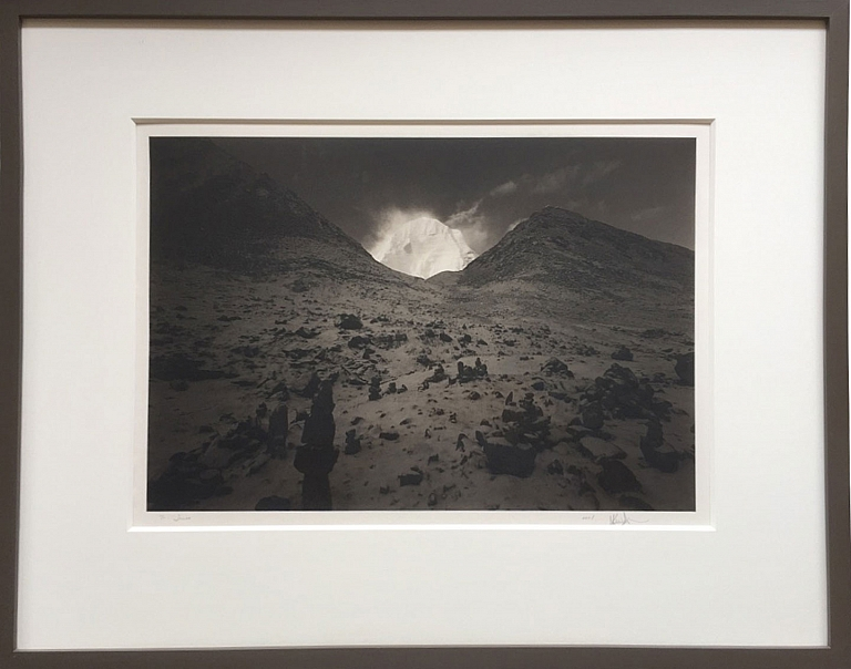 "Kenro Izu: ""Kailash #76, Tibet, 2000,"" Limited Edition Platinum Print, [SIGNED ASSOCIATION]"