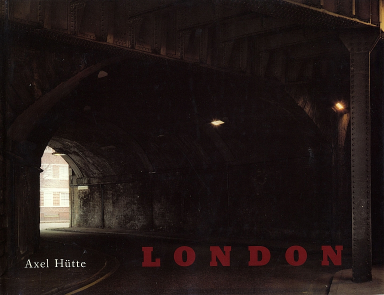 Axel Hütte: London, Photographien 1982-1984 [SIGNED