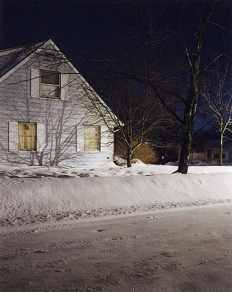 "Todd Hido: Taft Street (One Picture Book #6), Limited Edition (with ""Winter"" Print"
