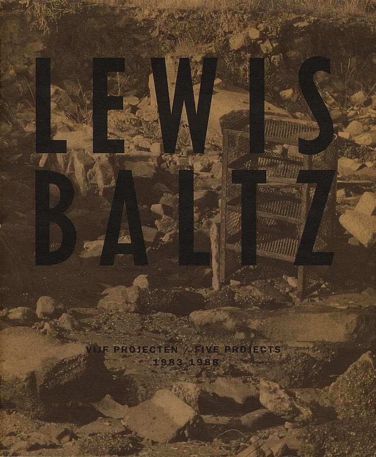 Lewis Baltz: Vijf Projecten / Five Projects 1983-1988 [SIGNED