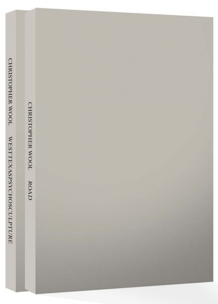 Christopher Wool: Road & Westtexaspsychosculpture (Two Volume Set), Limited Edition [SIGNED