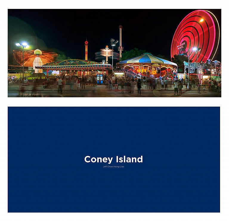 Jeff Liao: Coney Island, Special Limited Edition (with Print Variant No. 2