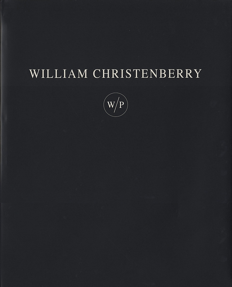 William Christenberry: Works on Paper (W/P) [SIGNED