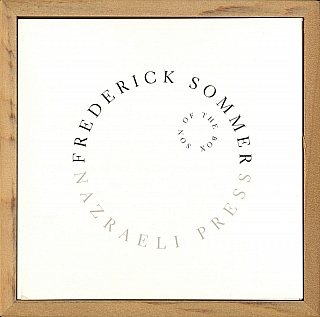 Frederick Sommer: Son of The Box, Limited Edition. Frederick SOMMER