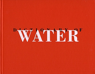 Roni Horn: Dictionary of Water [SIGNED]. Roni HORN.