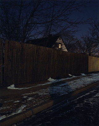 Todd Hido: Untitled #2638 (Levittown, New York), 2001, Limited Edition Type-C Print. Todd HIDO.
