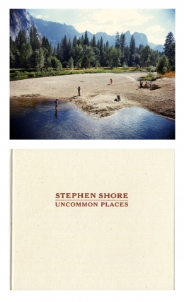 Uncommon Places: Photographs by Stephen Shore, Limited Edition (with Vintage Original Type-C Print). Stephen SHORE.
