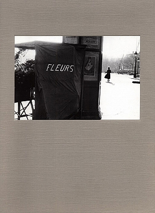 "Robert Frank: Flower is..., Limited Edition (Cover Plate Variant: ""Champs-Élysées, 1950"")...."