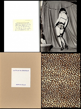 Sophie Calle: La Fille du docteur (The Doctor's Daughter), Limited Edition [SIGNED]. Sophie CALLE