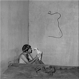 "Roger Ballen: Boarding House, Limited Edition (with Gelatin Silver Print, ""Contemplation, 2008""..."