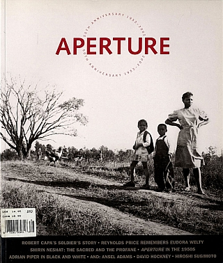 Aperture 166. Robert CAPA, Sylvia, PLACHY, Joel-Peter, WITKIN, Janet, STERNBURG, Hiroshi, SUGIMOTO, David, HOCKNEY, Ansel, ADAMS, Adrian, PIPER, Shirin, NESHAT, Eudora, WELTY, Reynolds, PRICE.