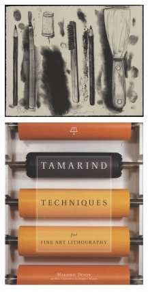 Tamarind Techniques for Fine Art Lithography, Limited Edition (with Lithograph by Jim Dine). Jim...