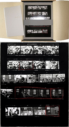 Robert Frank: The Americans, 81 Contact Sheets, Limited Edition. Robert FRANK, Shino, KURAISHI.